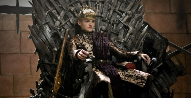 King Joffrey (Copyright by HBO, use for discussion qualifies as fair use under United States copyright law)