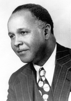 Dr. Percy Julian (artist unknown, fair use under United States copyright law via Wikimedia.)