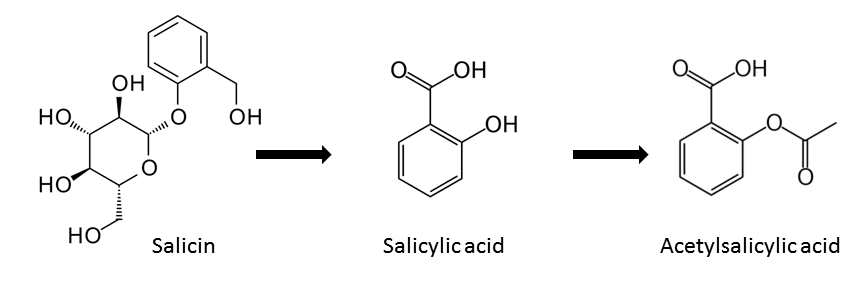 an introduction to the aspirin acetyl salicyclic acid In the synthesis you will be evaluating, you will start with salicylic acid and make aspirin using  no introduction or method is required the.