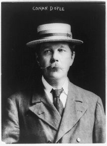 Arthur Conan Doyle (Library of Congress, Public Domain CC0)