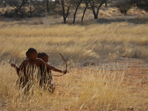 Bushmen Hunters by Frank Vassen (CC BY 2.0)